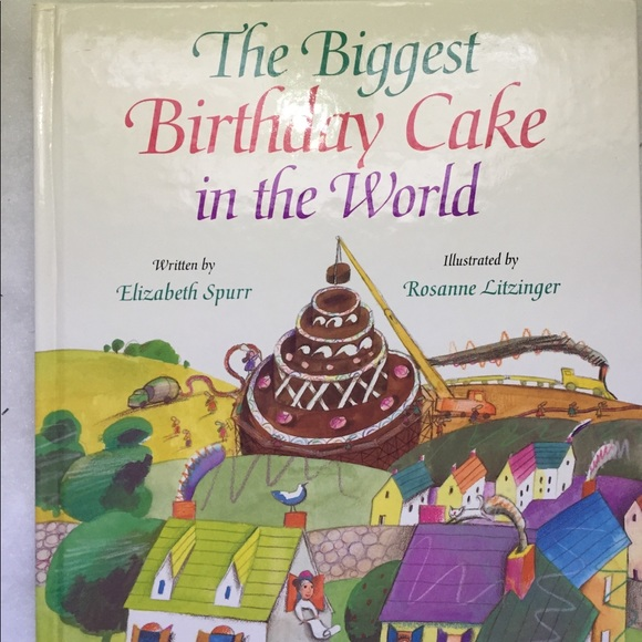Swell Other The Biggest Birthday Cake In The World Poshmark Funny Birthday Cards Online Barepcheapnameinfo
